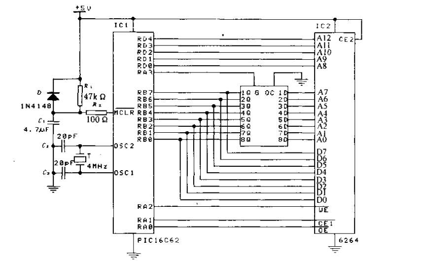 PIC系列单片机应用设计与实例PDF电子书免费下载