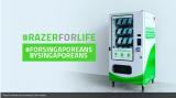 Razer正在新加坡部署免费口罩自动贩卖机