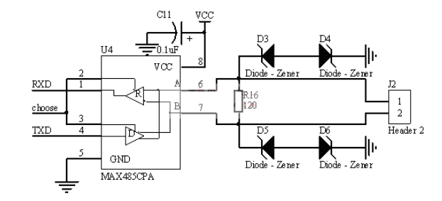 RS485總線典型電路分類介紹