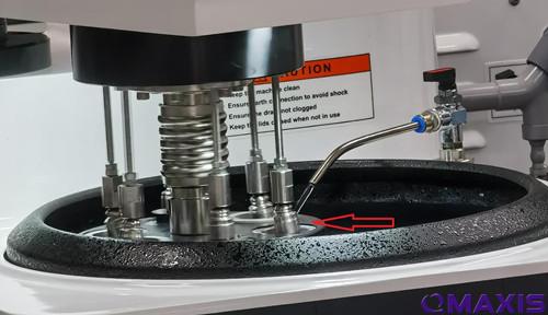 美国MetLab进口金相抛光机在使用中的注意事项