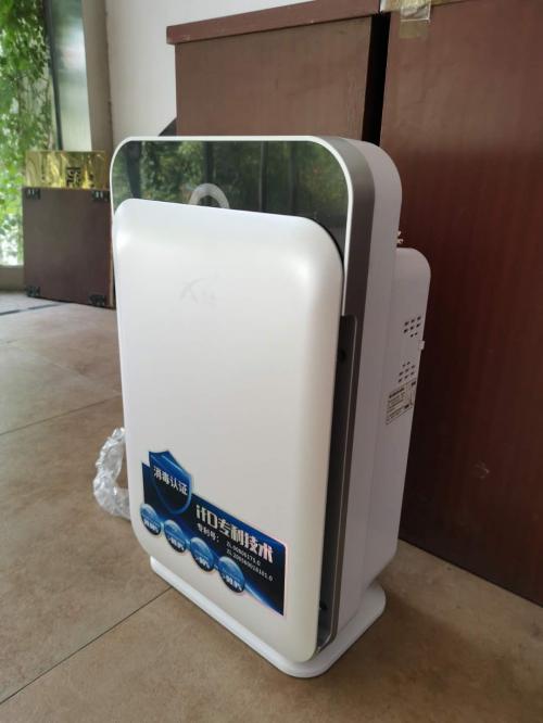 高效净化零耗材的雪圣孚沃德空气消毒机使用体验分享