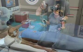 VR技术在医疗方面的应用