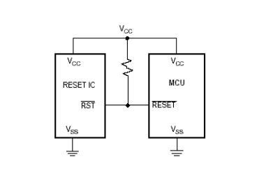 单片机应用电路中的复位IC的作用