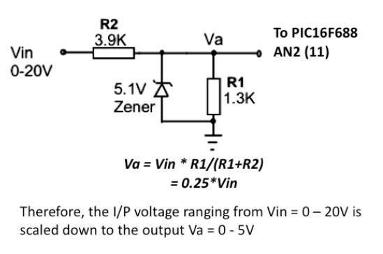 使用PIC單片機開發的簡易數字電壓表