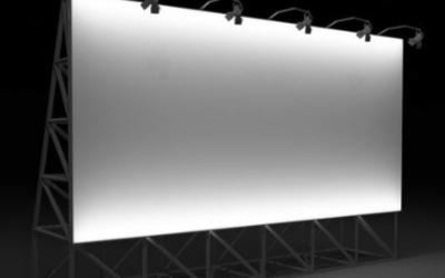 展厅设计的主要显示方式,大面积与高亮度显示首选LED屏