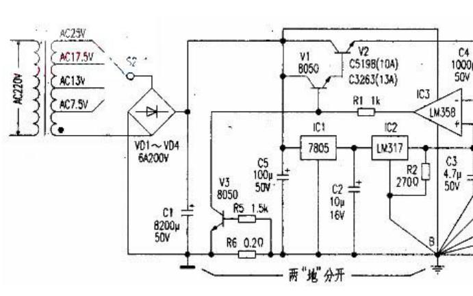 用运放自制高稳定大电流直流可调稳压电源