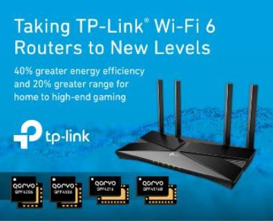 Qorvo®将TP-Link® Wi-Fi 6路...