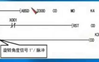 三菱FX系列PLC教程:FX系列的绝对值式凸轮顺控指令