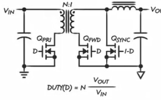 关于设计一款简单、高效和可靠的正激式转换器