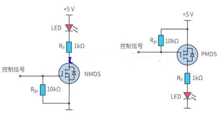 MOS管驱动电路_单片机如何驱动MOS管