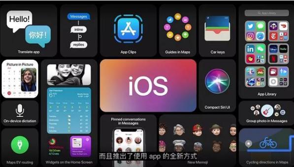 蘋果WWDC:ios 14全新設計,逐漸靠近安卓風格