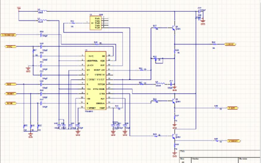 电子线路CAD课程设计报告的详细资料说明