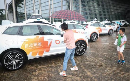 自動駕駛網約車在上海開放上路