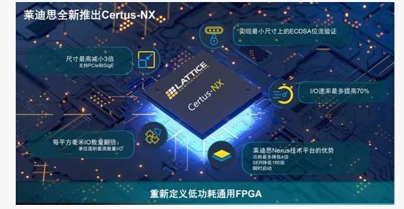 新一代Certus-NX 低功耗FPGA 莱迪思强势出击