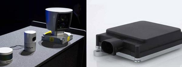 激光雷達對比毫米波雷達,它們的區別是什麼