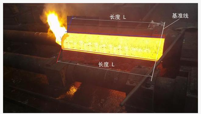 基于工业相机对钢管测长仪的方法与应用