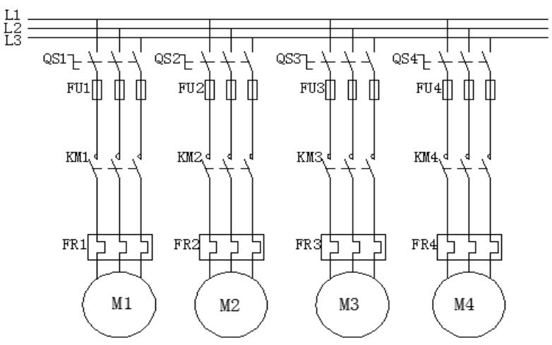 使用电气控制与PLC实现小区供水系统水泵控制的设计说明