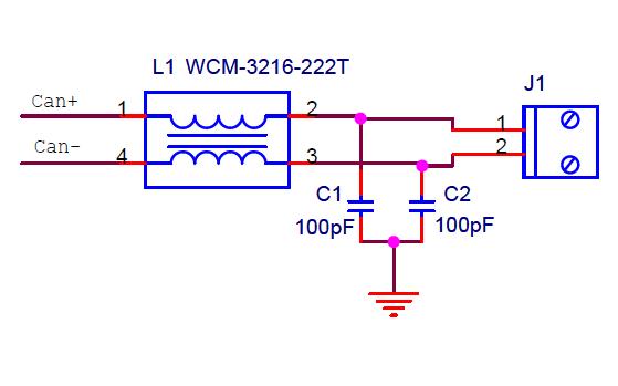 CAN接口EMC设计标准电路原理图免费下载