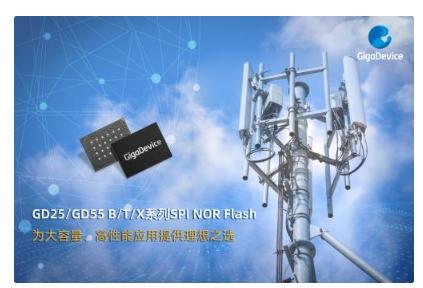 兆易创新推出国内首款2Gb SPI NOR Flash产品