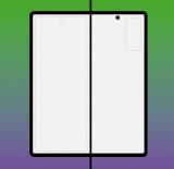 三星Galaxy Fold 2的最终设计可能已经透露