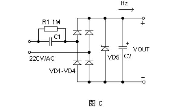 电容压降式简易稳压电源的资料介绍