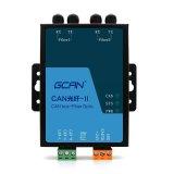 GCAN-208-2-F模块是广成科技新出的一款光纤转CAN模块