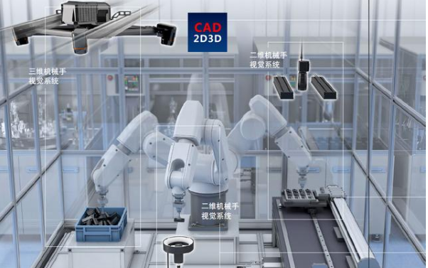 日本推超高精度3D视觉产品 可与机器人配合乱料自动取放