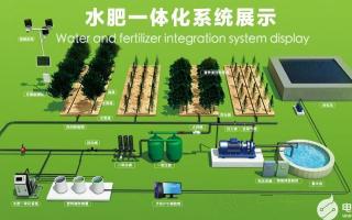 智能自动水肥一体化控制系统,实现水肥一体化智能灌溉