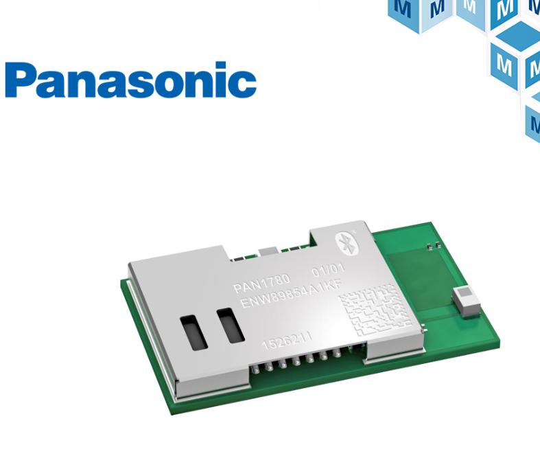 貿澤電子備貨Panasonic PAN1780高性能藍牙5低功耗模塊