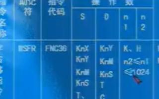 三菱FX系列PLC教程:FX系列的字右移指令
