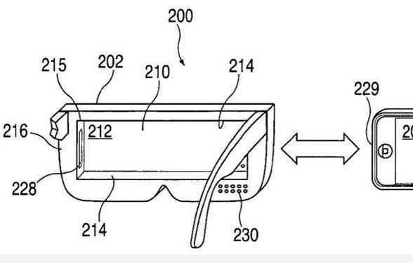 苹果AR智能眼镜与智能手机配合使用