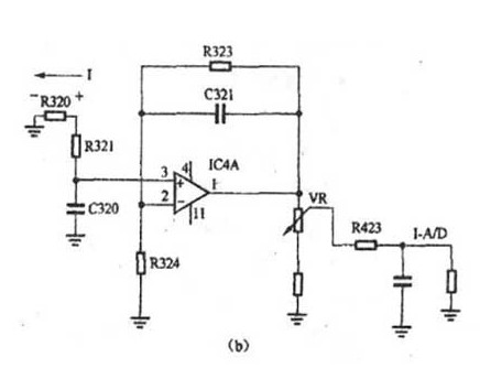 电流互感器采样电路的工作原理