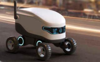 大流行期间运送食物的机器人