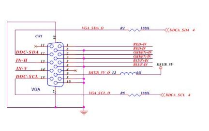 宏碁AL1923W液晶显示器的电路原理图免费下载