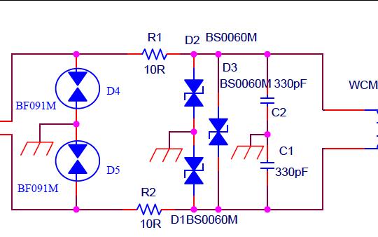 RS485接口EMC设计的标准电路图免费下载