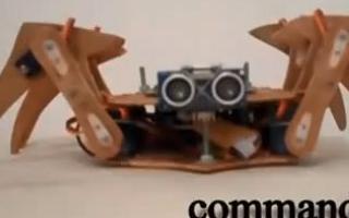 利用STM32F4和Android控制六足機器人演示介紹