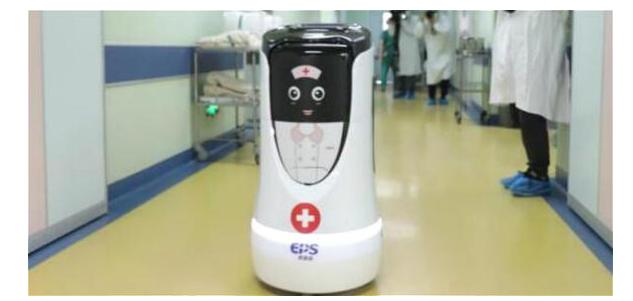 物流机器人的加持 智慧医疗如虎添翼