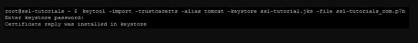 在Tomcat服务器上安装SSL证书的步骤