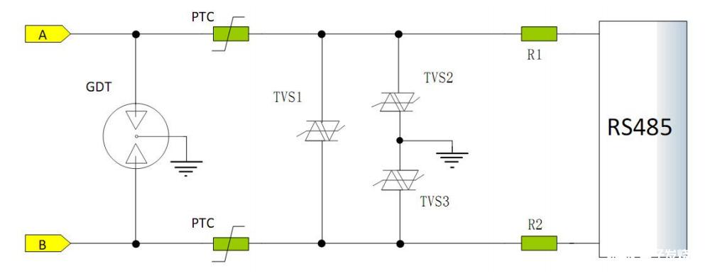 关于RS485端口隔离及保护设计案例