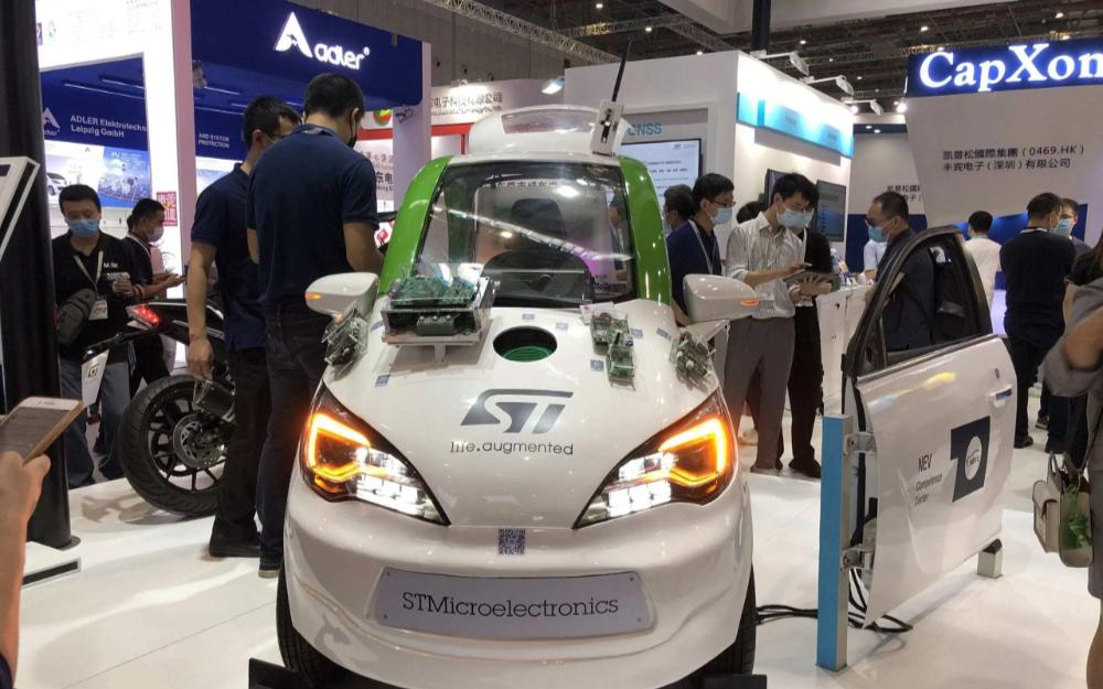 意法半导体智能出行整车方案:31项Demo助成未来驾驶体验