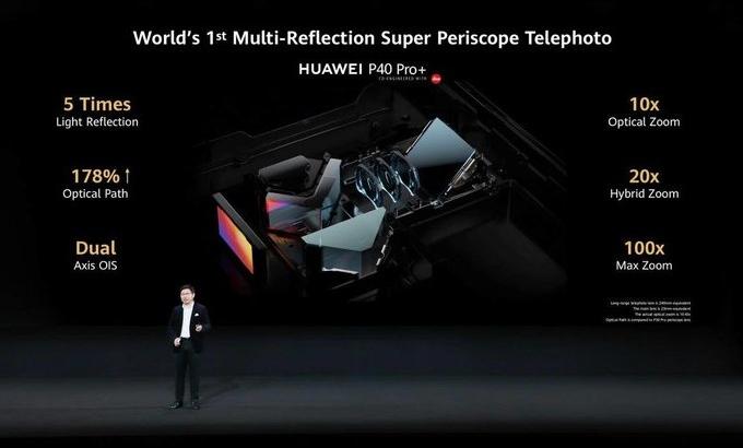 华为P40 Pro的10倍光学变揭子 迪衷