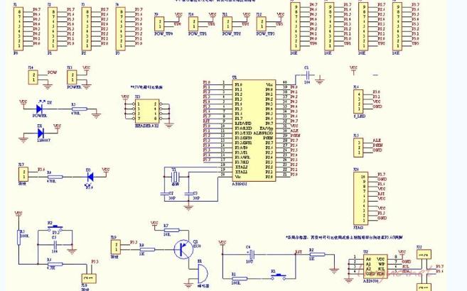 单片机最小系统的设计资料概述