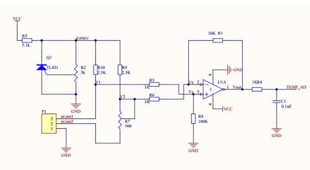 PT100测温电路设计案例分析