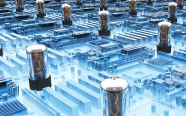 使用IIC24C04芯片驱动数码管的程序和仿真电路图