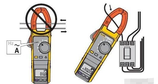 钳形电流表的使用方法和注意事项