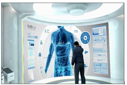 无线应用在医院病房监测应用