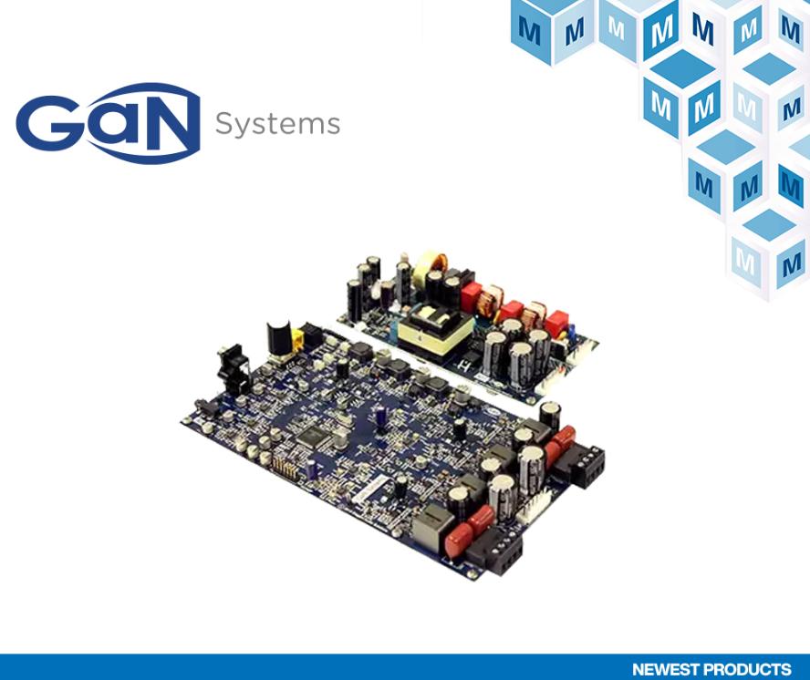 贸泽备货GaN Systems的新款GS-EVB...