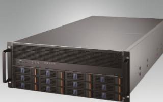 研華SKY-6420-4U高密度GPU服務器,IPMI監控系統確保GPU的穩定性