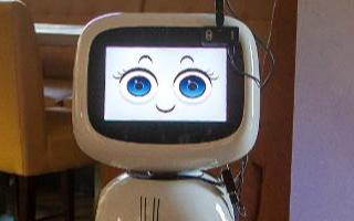 在COVID-19期间,社交疏散包括餐馆和食品配送中的机器人