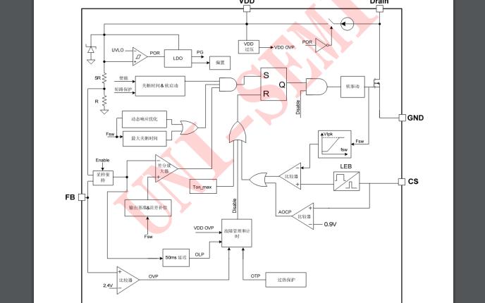 U3212 PWM控制功率器的数据手册免费下载